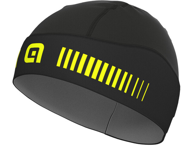 Alé Cycling Klima Under Helmet, black/fluo yellow